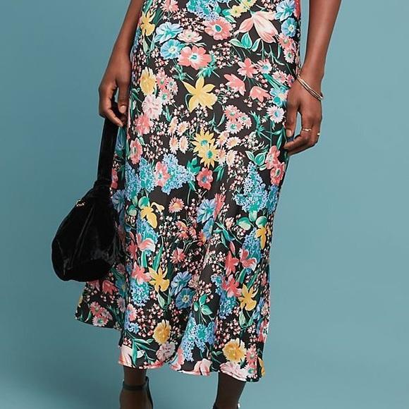 13282e6fd528 Anthropologie Dresses & Skirts - Anthropologie Florence Bias Midi Skirt